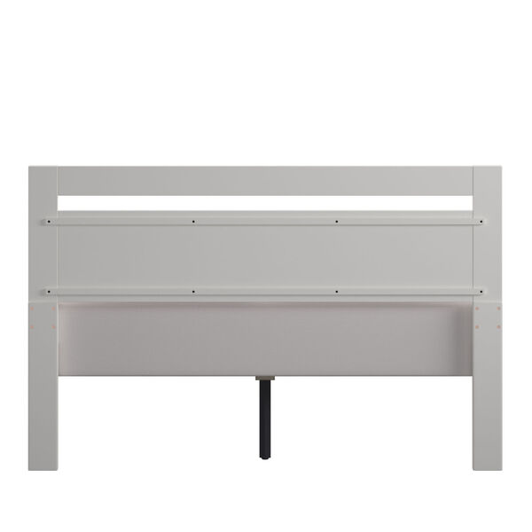 Christopher White Full Rectangular Cut-Out Panel Bed, image 4